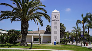 photo of Clock Tower on Oxnard College Campus