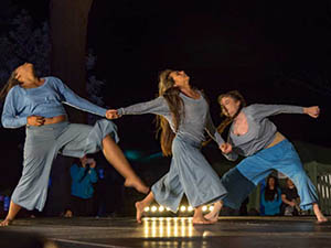 photo of CSUCI dancers on stage
