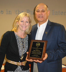 Vance Manakas, 2015 Classified Employee of the Year