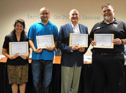 Classified Employee of the Year, 2015 nominees