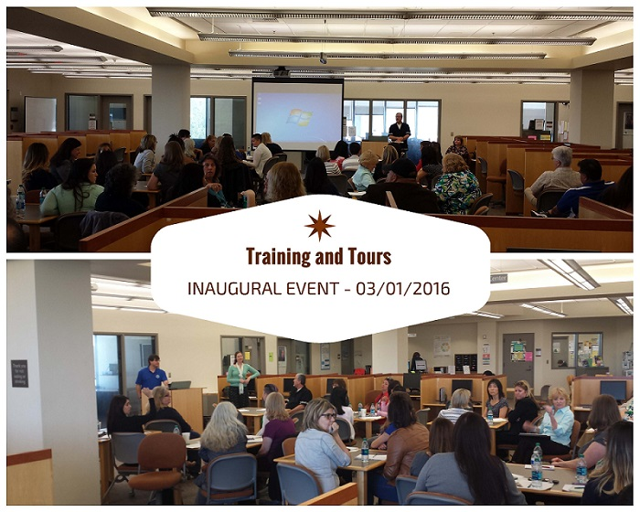 Training and Tours Inaugural Event Photo March 1, 2016 at Moorpark College
