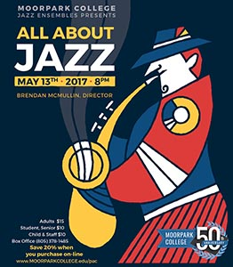image of flyer for All About Jazz - Spring 2017