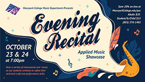 Evening Recital, October 2019