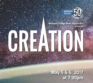 image of flyer for Creation - MC Symphony and Chorus performance
