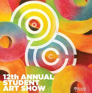 image of flyer for the 12th Annual Student Art Show