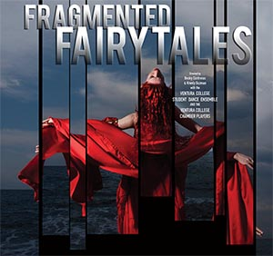 image of flyer for VC Dance Concert: Fragmented Fairytales