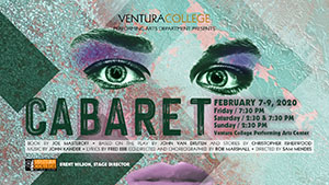 Cabaret Presented by Ventura College Performing Arts