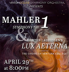 image of flyer for the VC Symphony Orchestra Concert