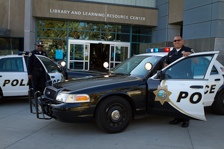 Photo of Supervisors in front of Ventura College LRC