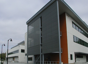 Picture of the new Advanced Technology/General Purpose Classroom Building