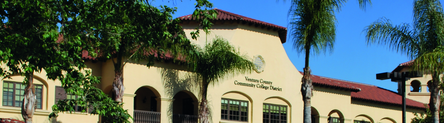 ventura county community college district office building side view