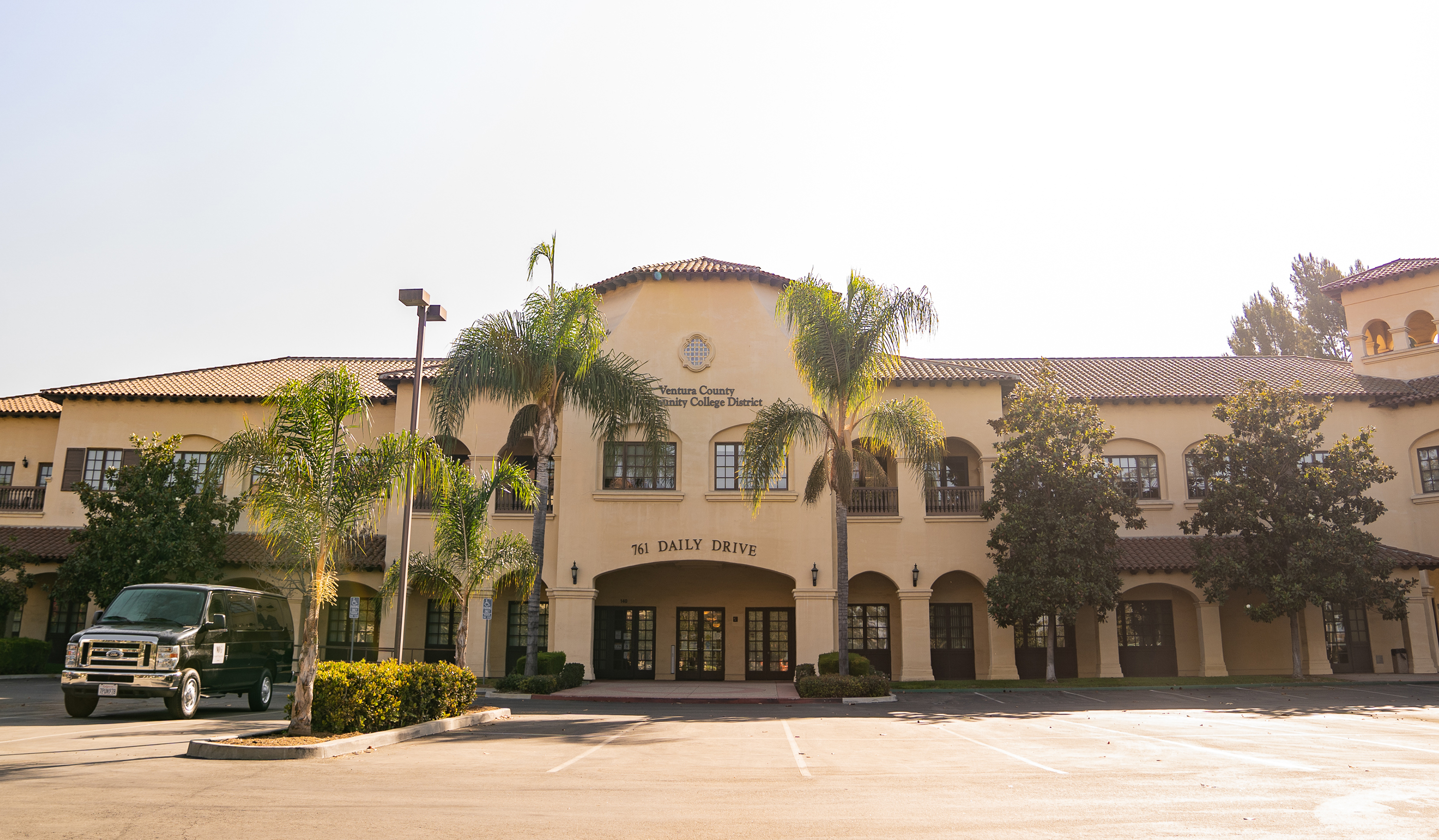 Photo of the District Administrative Center in Camarillo, CA