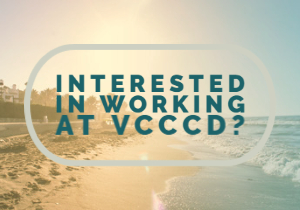 Interested in working at VCCCD Button