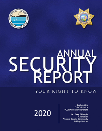 Annual Security Report Cover