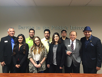 Photo of Visit by State Board of Governors Member Arnoldo Avalos