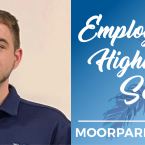 Matt Spinneberg and text that reads: Employee Highlight Seri