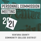 Personnel Commission Meeting, 20-21, Ventura County Community College District