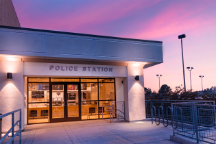 Photo of the Moorpark College Police Station