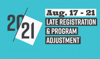 20-21, Aug. 17 - 21, Late Registration & Program Adjustment, Ventura County Community College District