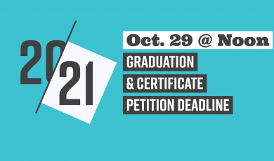 20-21, Oct. 29 at Noon, Graduation & Certificate Petition Deadline, Ventura County Community College District