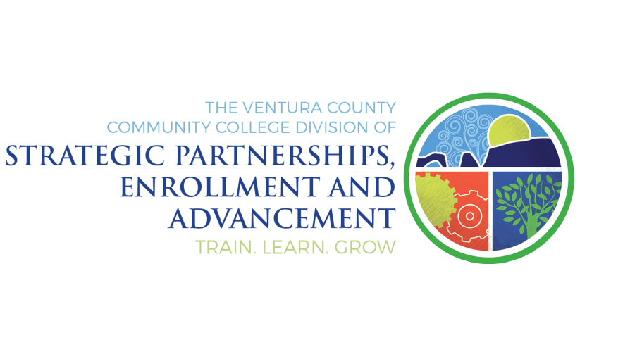 The Ventura County Community College Division of Strategic Partnerships, Enrollment, and Advancement. Share. Learn. Grow.
