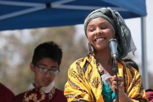 Speaker at Multicultural Day at Oxnard College