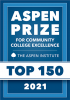 Aspen Prize for Community College Excellence. The Aspen Institute Top 150 for 2021.