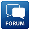 image of icon representing public forum